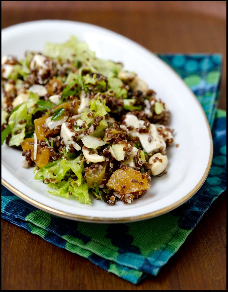 Quinoasalat – sunn lunsj