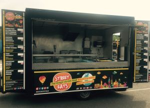 Street food van available for hire for weddings, parties and company events. Street fusion brings the best worldwide street food to the UK