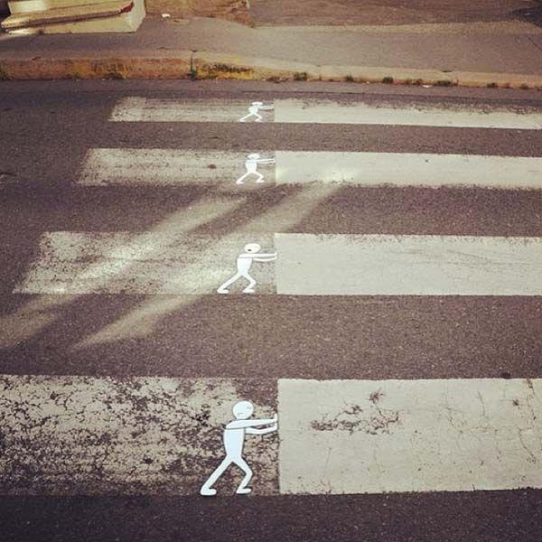 "Funny acts of ""vandalism"" #streetart #graffiti"