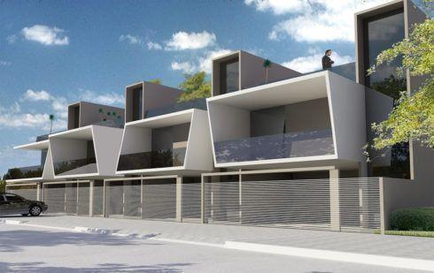8 best projekty dom w do zabudowy bli niaczej i szeregowej for Fachadas de casas modernas wikipedia