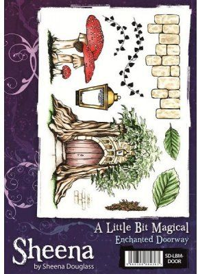 A Little Bit Magical Stamp Set - Enchanted Doorway by Sheena Douglass