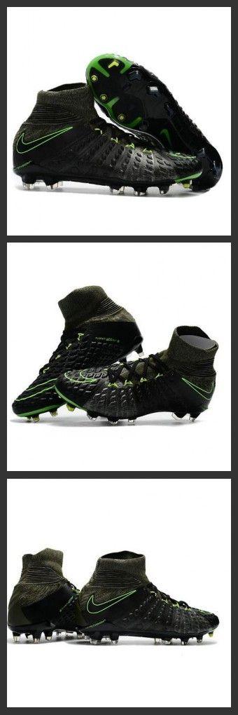 Nike Hypervenom Phantom III FG Neymar Scarpe Calcio 2017 Volt Nero
