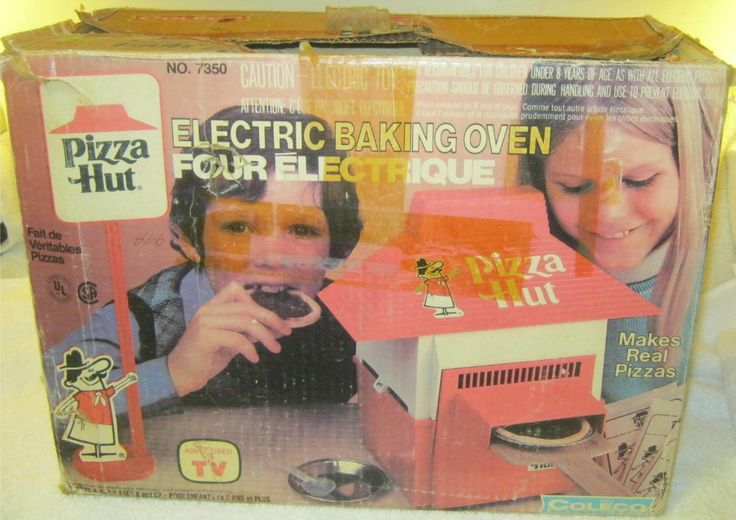 COLECO: 1975 Pizza Hut Electric Baking Oven #Vintage #Toys ...