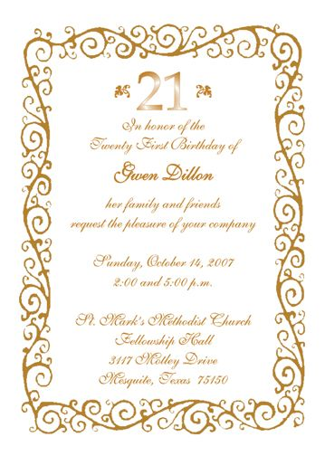 23 best Invite Your Folks! images on Pinterest Invitation cards - free 21st birthday invitation templates