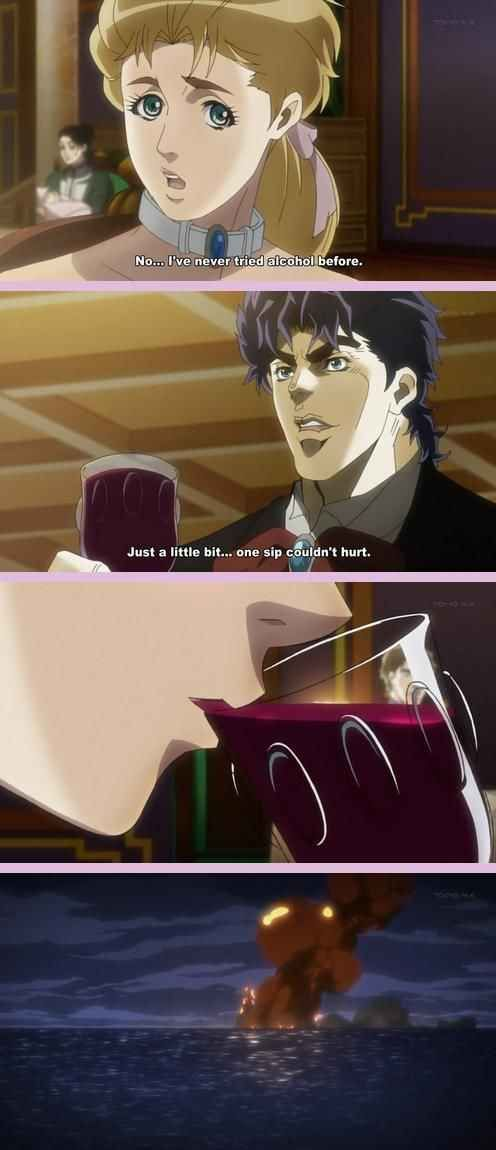 42 Ridiculous Out-Of-Context Panels From Anime And Manga JoJo's Bizarre adventure!!!!