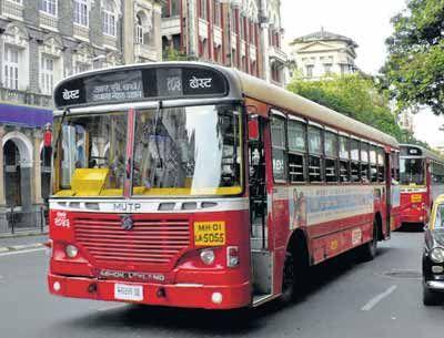 B.E.S.T Bus in Mumbai