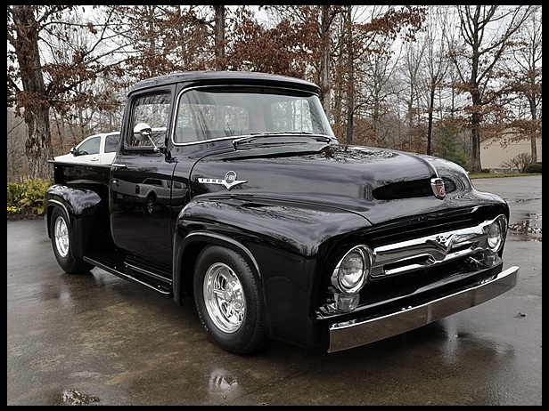 1956 Ford F100  460/550 HP, Custom Chassis    #MecumINDY