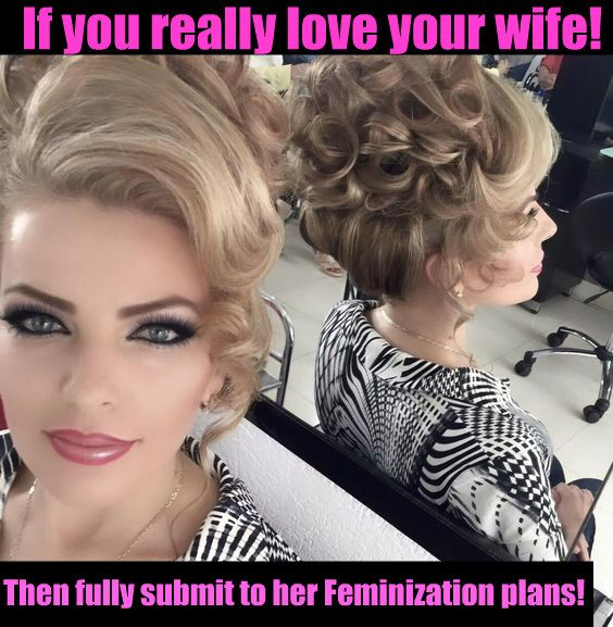19 Best Feminized Husband Captions Images On Pinterest