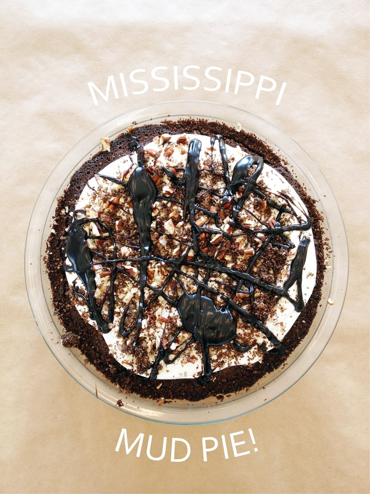 The best Mississippi Mud Pie recipe!