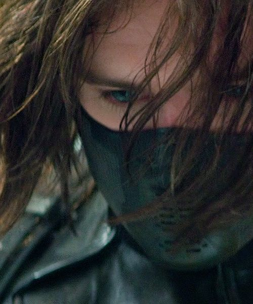 Oh my look at those eyes!! Our Winter Soldier/Bucky Barnes :(