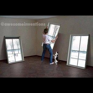 This would be cool in a basement or a room with no windows.