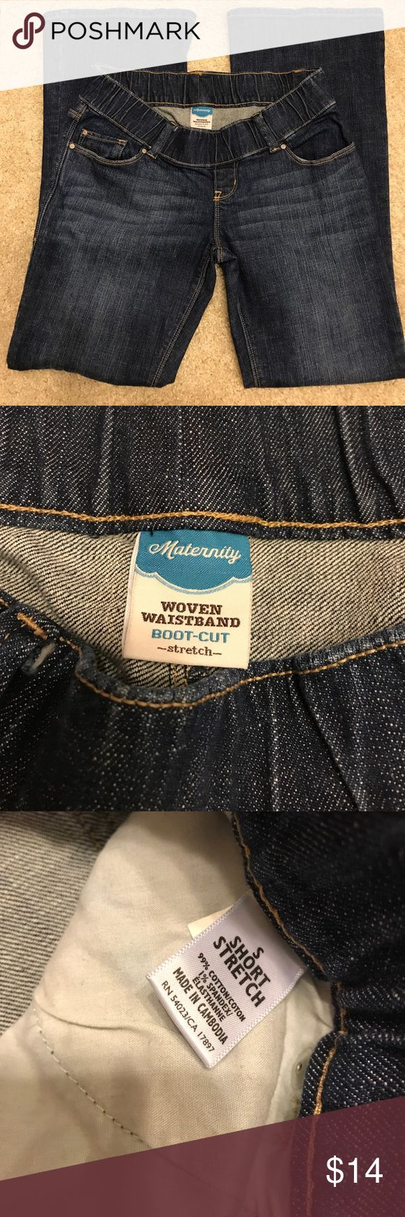 Old navy petite small maternity jeans These jeans are like new from a smoke and pet free home Old Navy Jeans Flare & Wide Leg