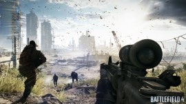 Sneak peek of first Battlefield 4 gameplay. Yes, there will be SP