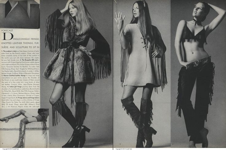 Fashion: Fashion Forecast: 1970 Pages 25 and 26