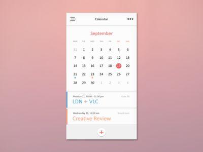 Day 011 - Calendar