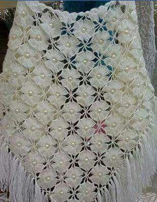16 besten Crochet Romantic Shawl Bilder auf Pinterest | Romantisch ...