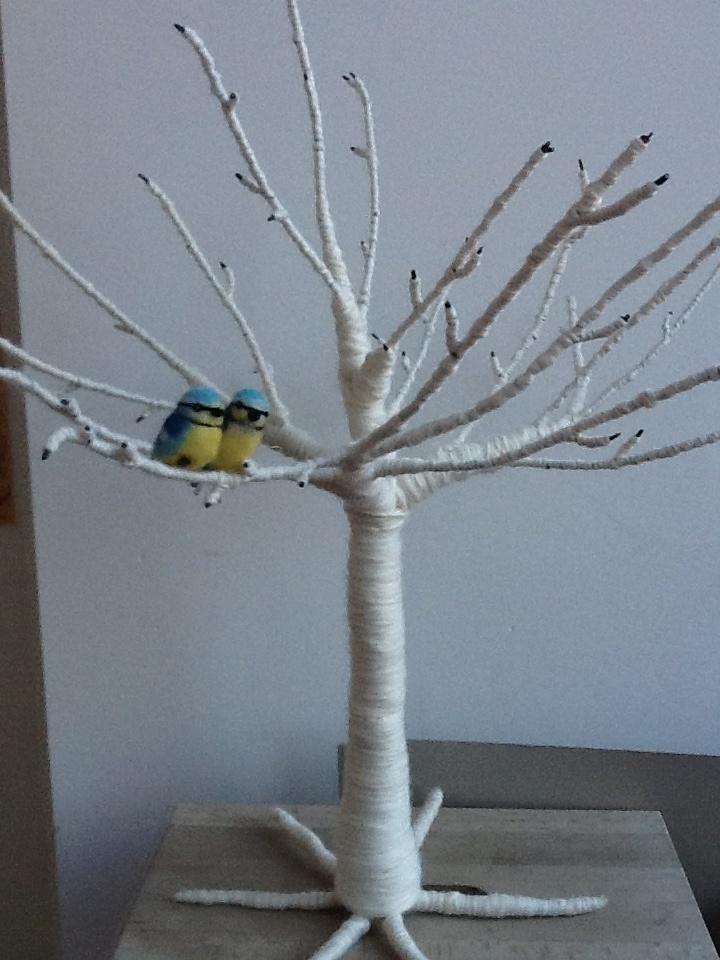 Winter Wool Tree felt Rozemarijn