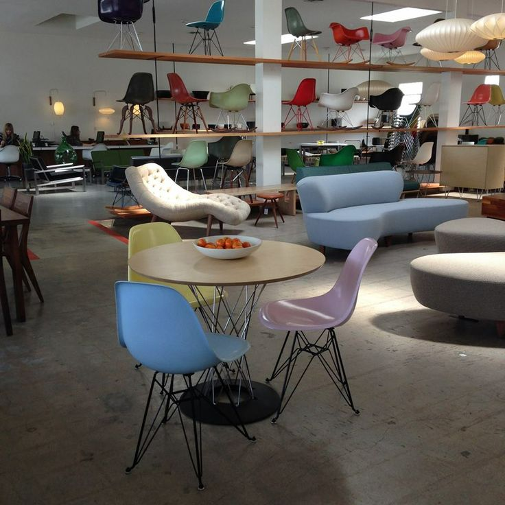 17 best images about modernica 39 s los angeles showroom on for Oriental furniture los angeles