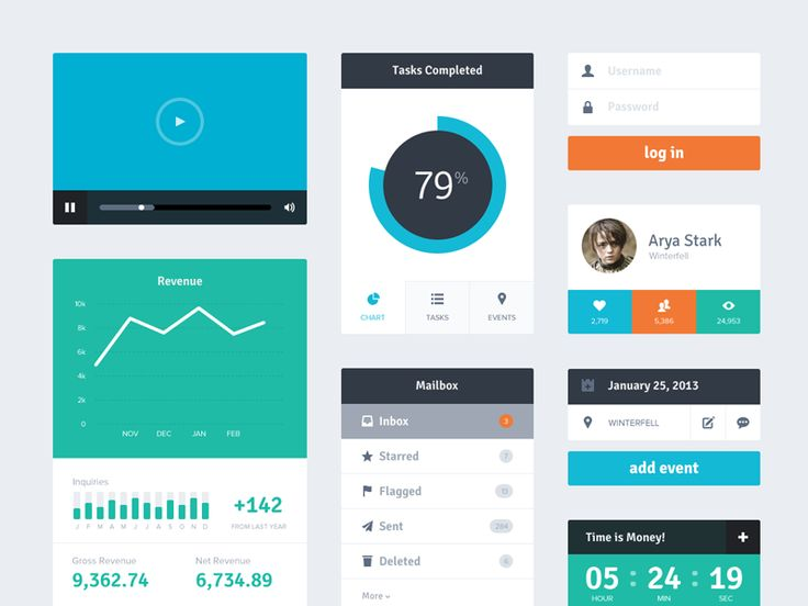 20 Beautiful, Free UI Kits to Download