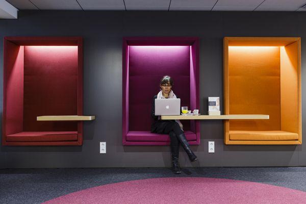 Servisair Aspire airport lounge in Helsinki-Vantaa by Gullstén-Inkinen Design & Architecture, via Behance