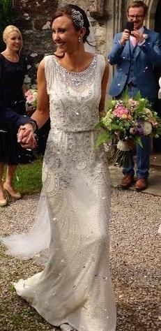 Jenny Packham Esme Wedding Dress Size 8  for sale