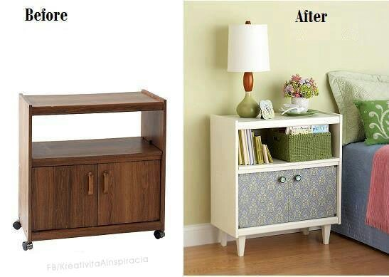 Microwave cart repurposed upcycle pinterest microwave cart furniture makeover and repurposed - Furniture advertising ideas ...