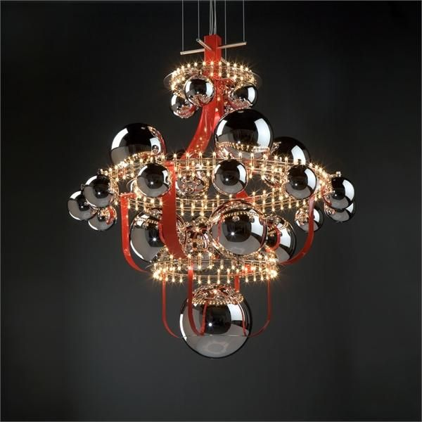Unique Chandeliers | Unique Chandelier Reminding Of The Solar System | DigsDigs