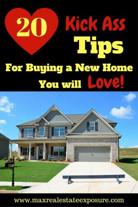 What are some tips for new home buyers?