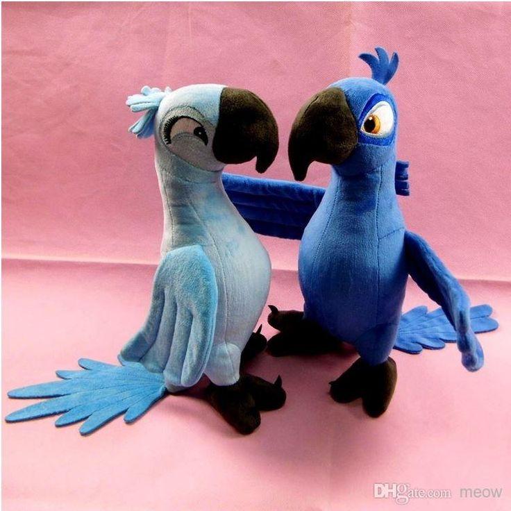 Рио Плюша Стенд Игрушки Новый Rio 2 Movie Мультфильм Куклы Blue