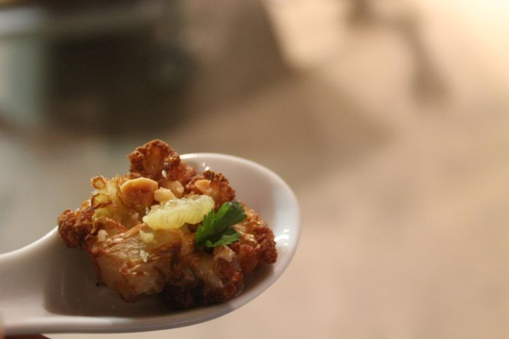 Fried Cauliflower | Chef Andy Nhan Dinner - Art for Food