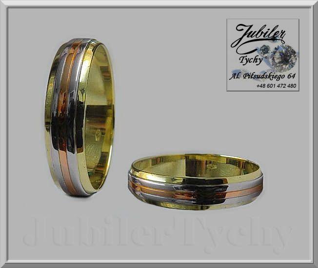 Złote obrączki (para) Okazja 907 zł za 2 szt. 3 kolory złota żółte czerwone białe złoto 585 Promocyjna cena 150 zł netto za 1 gr wyrobu (+VAT) #Złote #obrąki #okazja #trzy #kolory #złota #żółte #czerwone #białe #złoto #Au585 #Gold #wed #biżuteria #wedding #ślubna #ślub #obrączka #ring #wesele #jubilertychy #Jubiler #Tychy #Jeweller #Tyski #Złotnik #Zaprasza #Promocje:  ➡ jubilertychy.pl/promocje 💎