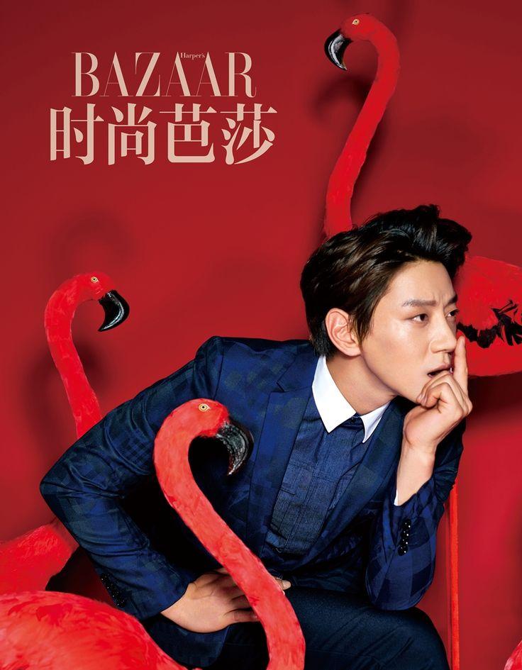 Hwang Chi Yeol - Harper's Bazaar (China) Magazine May Issue '16