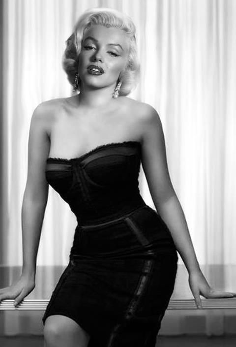 Marilyn Monroe Living Room Decor: Marilyn Monroe, Sexy Dress