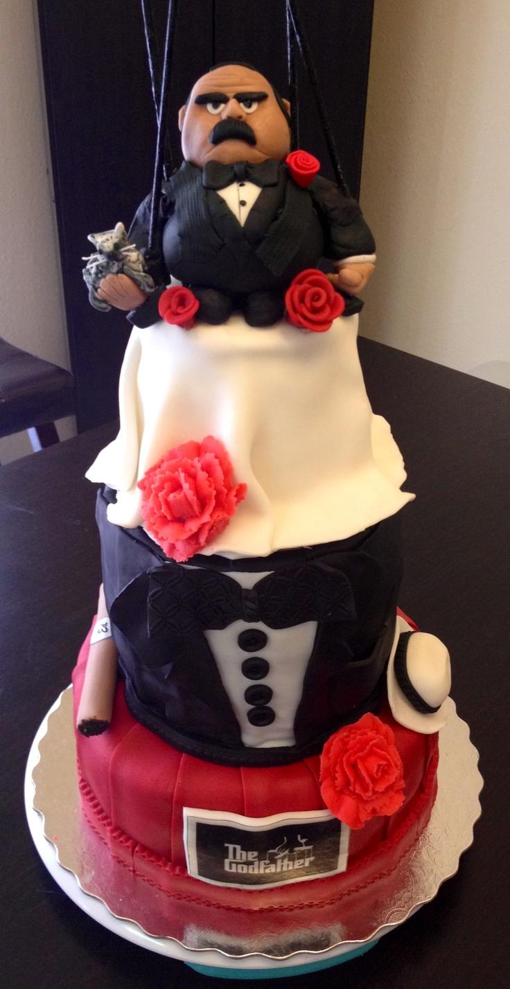 12 Best Godfather Wedding Planning Images On Pinterest The - Godfather Wedding Cake