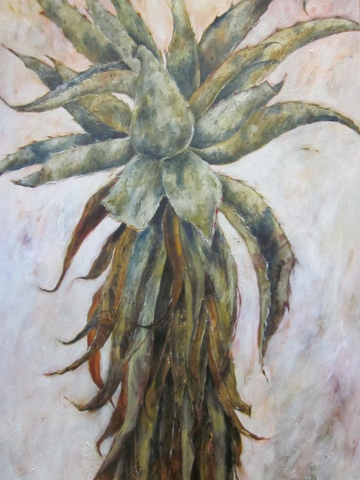 Aloe painting