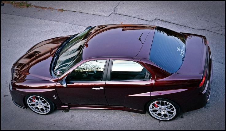 Alfa Romeo 156 with WTCC body kit