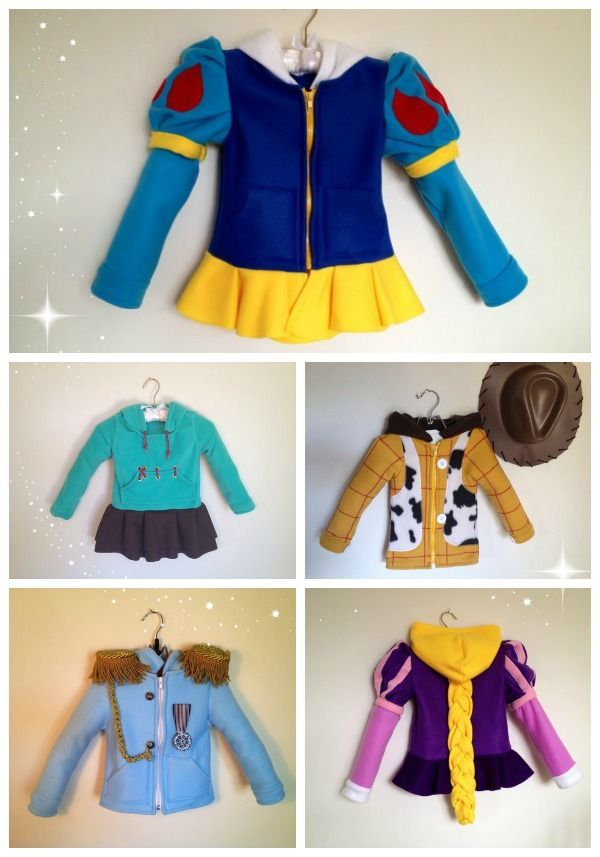 You have got to check out Magic Princess Whitney for these ah.maze.ing. Disney inspired hoodies!