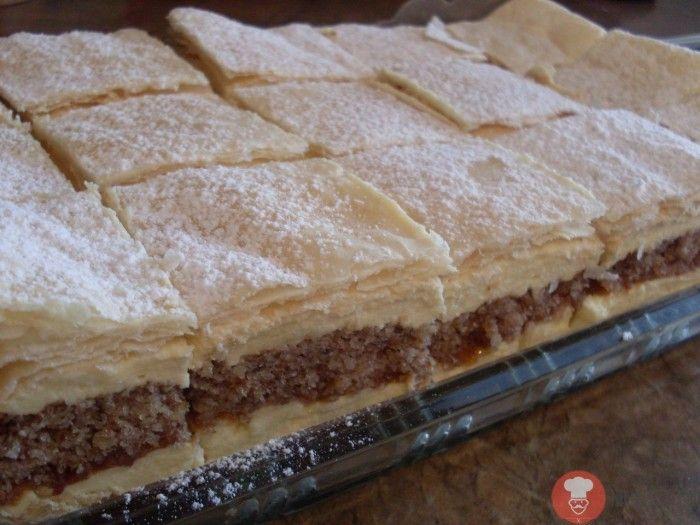 Juhoslovansky krémový koláč 1