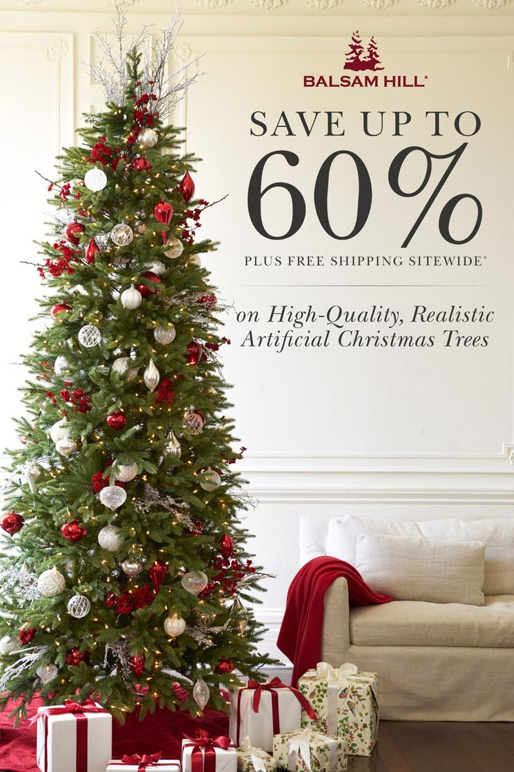 balsam hill creates the most realistic artificial christmas trees ever produced designed by balsam - Artificial Christmas Trees For Sale