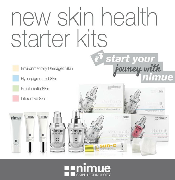 Start your journey with Nimue!New Skin Health Starter Kits