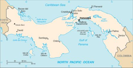 Isthmus of Panama: formed about 3 million years ago, joining South America and North America; before 7 million years ago, they were separated by an ocean, but continental drift gradually drew them together; allowed mammals to spread into new territory to compete wit new species