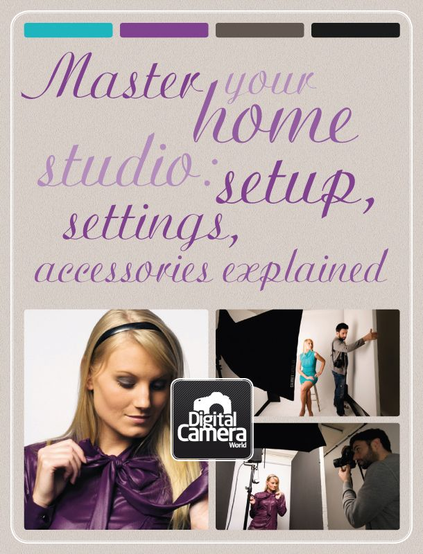 Master your home photo studio: setup, settings, accessories explained