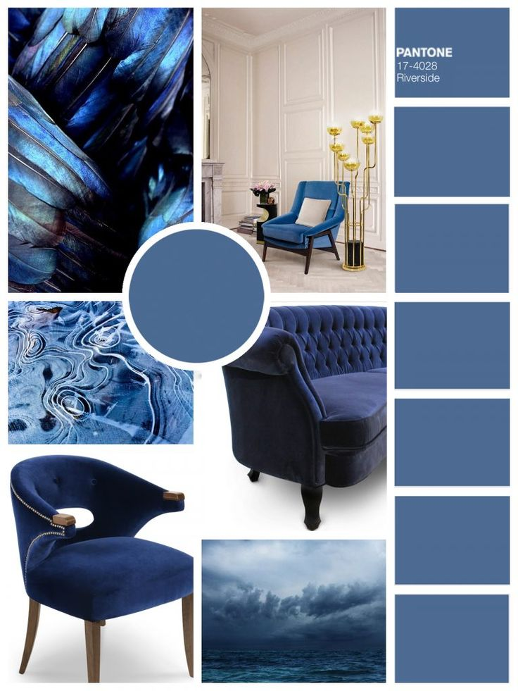 953 best mood board images on pinterest news projects Blue home decor