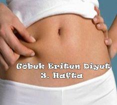 Göbek Eritme Diyeti 3. Hafta Programı #göbekeritmediyeti #göbekeritendiyet #diyetlistesi