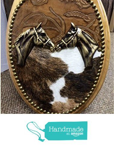 Cowhide & Leather Western Horse Head Toilet Seat Cover from Signature Cowboy Studio https://smile.amazon.com/dp/B0189X1LRK/ref=hnd_sw_r_pi_dp_si8FybE0551MD #handmadeatamazon