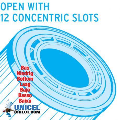 Filtre UNICEL UHD SR137 compatible Sta Rite 239,00 €  Filtres spa piscine par marque, Filtre Piscine, Cartouches Spa/Piscine, Sta-Rite, Cartouche de filtration, Haut ouvert, Bas ouvert avec 12 fentes symétriques