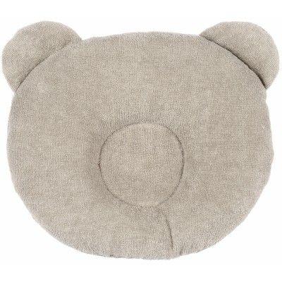 Coussin anti-tête plate P'tit Panda taupe : Candide - Coussin anti tête plate - Berceau Magique