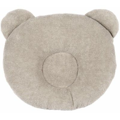 Coussin anti-tête plate P'tit Panda taupe 20 € berceau magique
