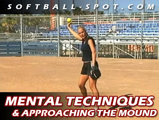 Breathing and mental mindsets are just a couple of the softball pitching mental techniques to work on when your pitchers are approaching and at the mound.
