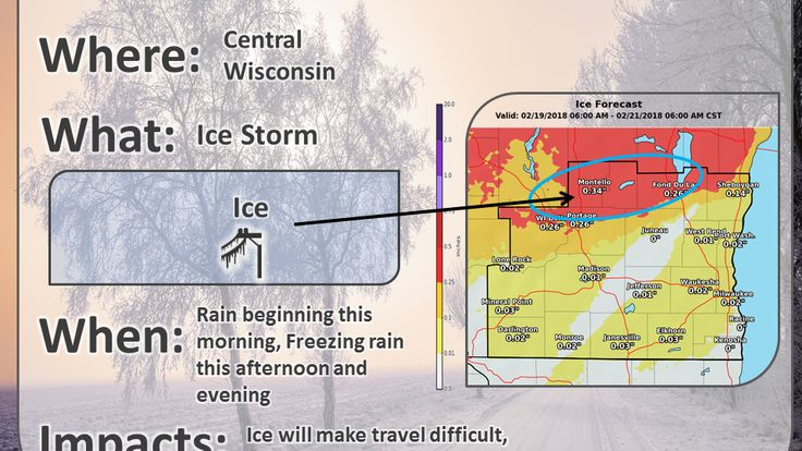 ICYMI: Dangerous ice storm targeting Wisconsin. We'll tell you where and when. - Madison.com